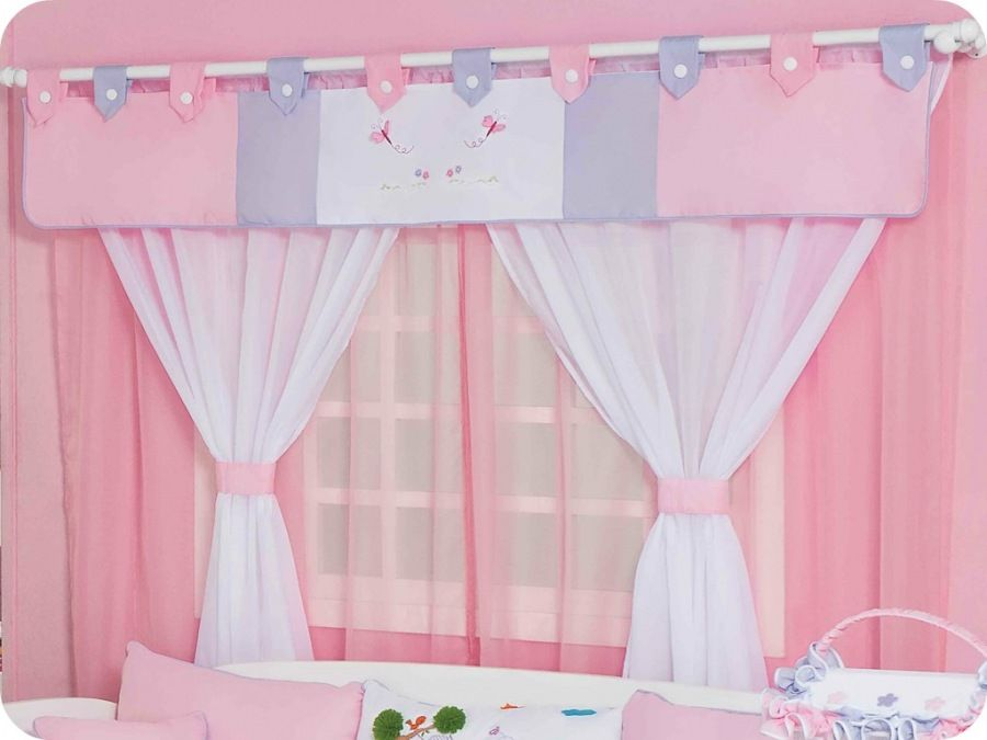 cortinas para quarto de beb confira os modelos