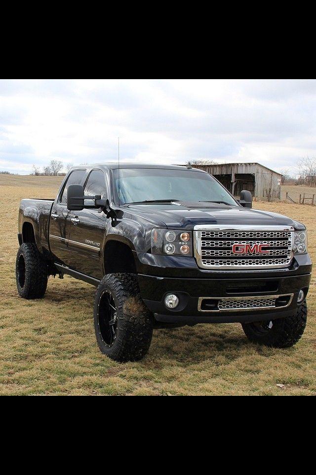 Gmc Jacked Up Trucks Countrygirl Trucks Trucks Chevy