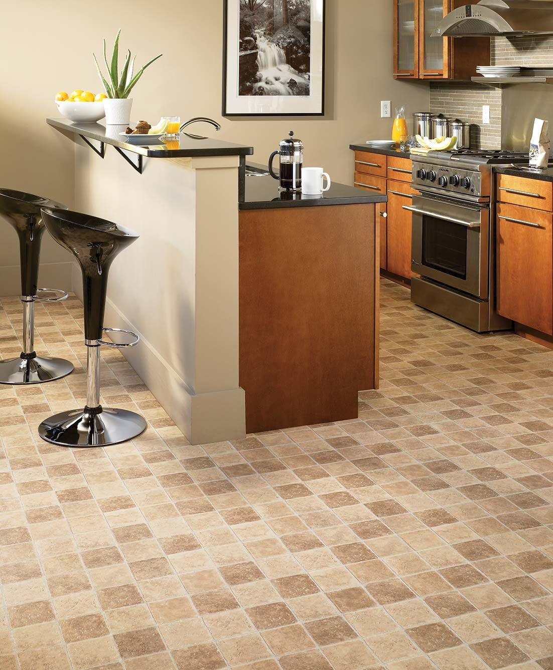 Vinyl flooring has enjoyed great improvements in the