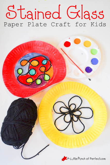 Beautiful Stained Glass Paper Plate Craft For Kids Paper Plate Crafts For Kids Paper Plate Crafts Plate Crafts