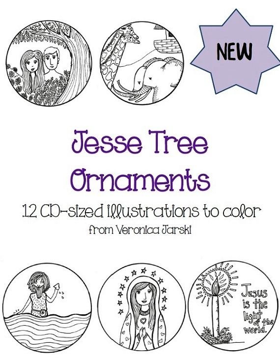 Brand-New Jesse Tree Ornaments for Advent 2014 [Printables ...