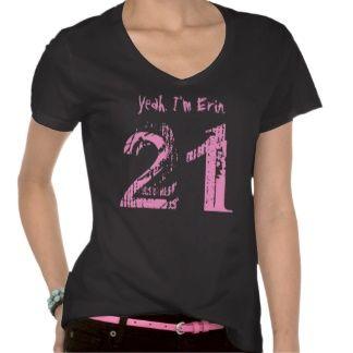 21st Birthday Gift Eighteen V006 $33.45 per shirt  #black #birthday #gift #tshirt #top #women