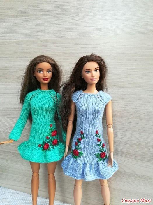 Новые платьишки и... приехал парень, друг Барби, связались ...