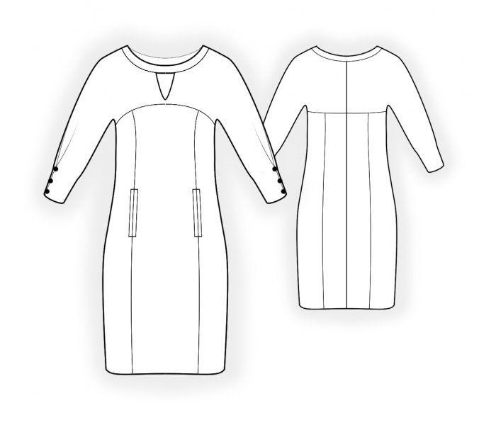 4705 - Patrón de costura #4705 Patrón de costura a medida de Lekala ...
