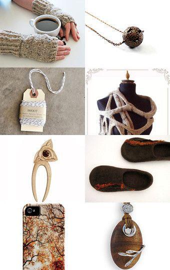 Some handmade lovely items