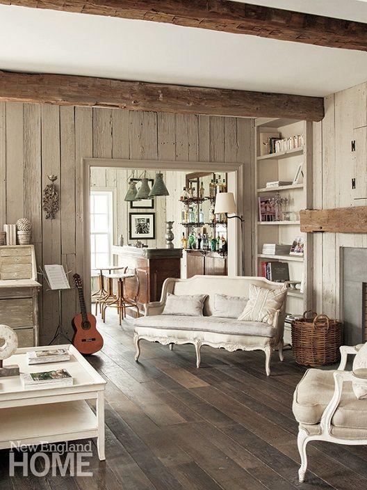 4 Simple Rustic Farmhouse Living Room Decor Ideas: Farmhouse Interior Design Ideas