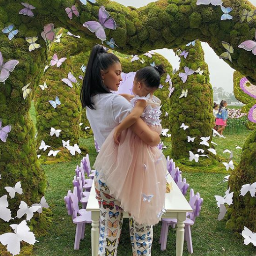 Inside Kylie Jenner's OvertheTop Butterfly Party for