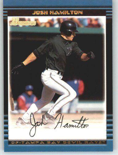 2002 Bowman # 137 Josh Hamilton Tampa Bay Devil Rays Baseball Card by Bowman. $4.95