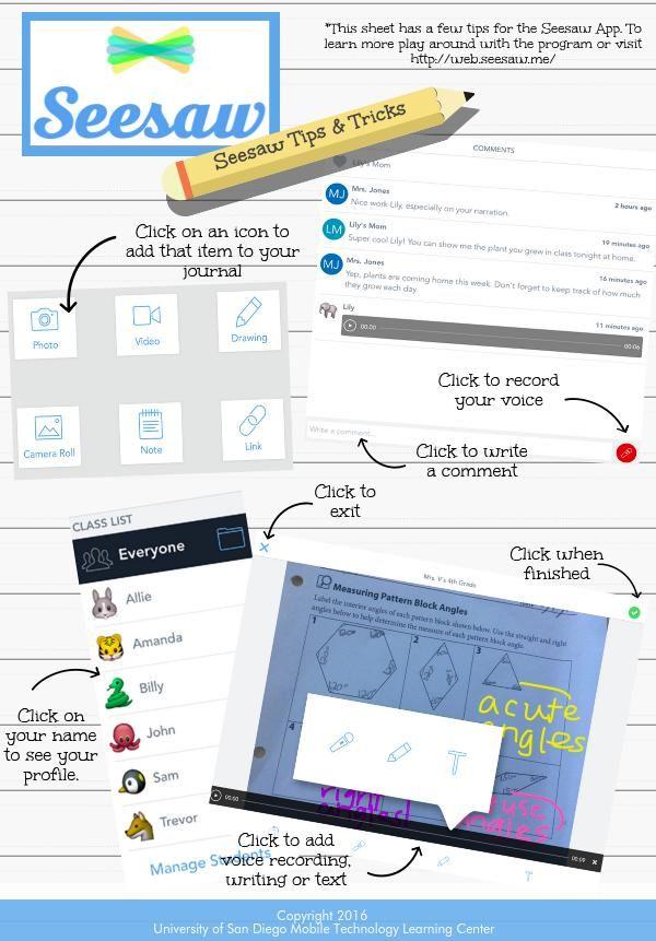 Seesaw App Tips & Tricks Piktochart Infographic Editor