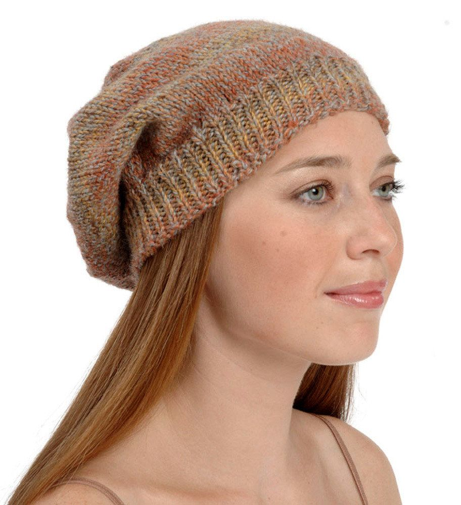 Slouchy Hat in Plymouth Encore Worsted - F302   Knitting ...