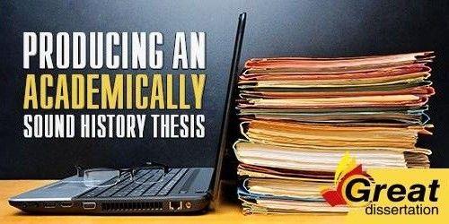 Custom history dissertation services writing