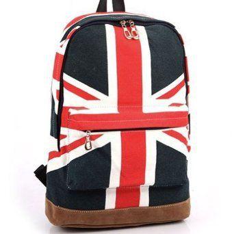 Amazon Com Autom Women Canvas Uk England Flag Punk Backpack Shoulder Bag Handbag Duffle School Clothing Backpack Bags Shoulder Bag Bags