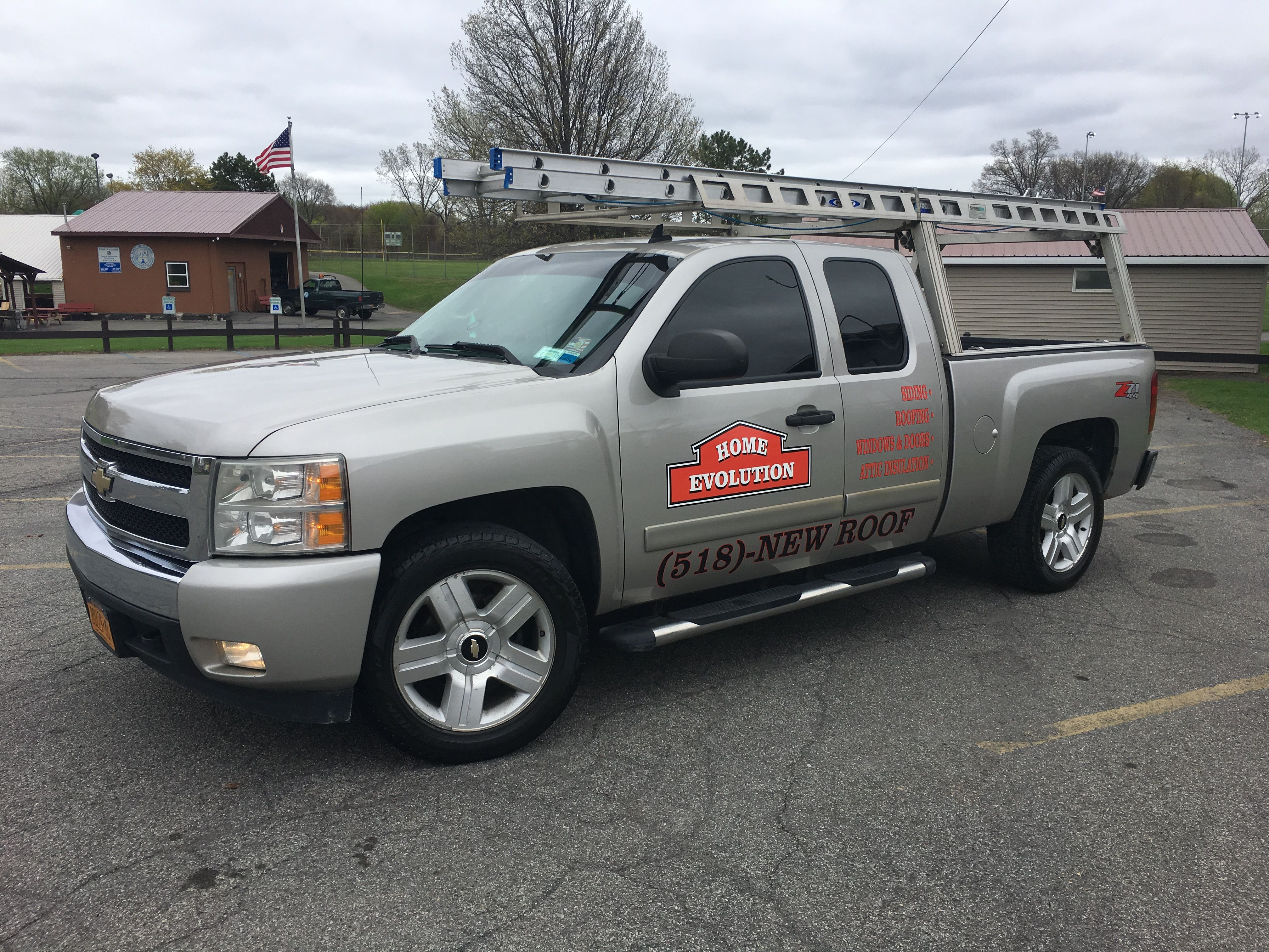 Home evolutions ny - Home Evolution Roofing Company Truck Roofing Contractors Albany Ny