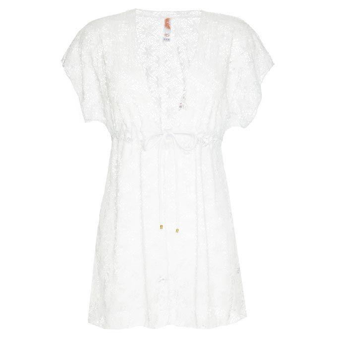 bb401504d Primark   vestido de crochet en blanco