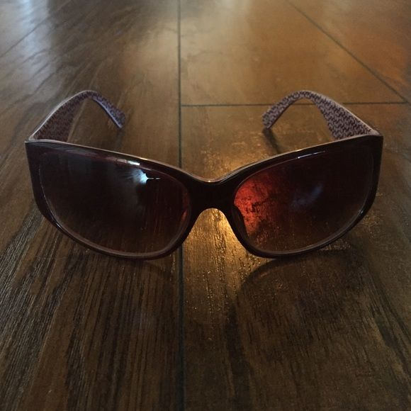 Authentic coach sunglasses pink n brown coach sunglasses (no case) Coach Accessories Sunglasses
