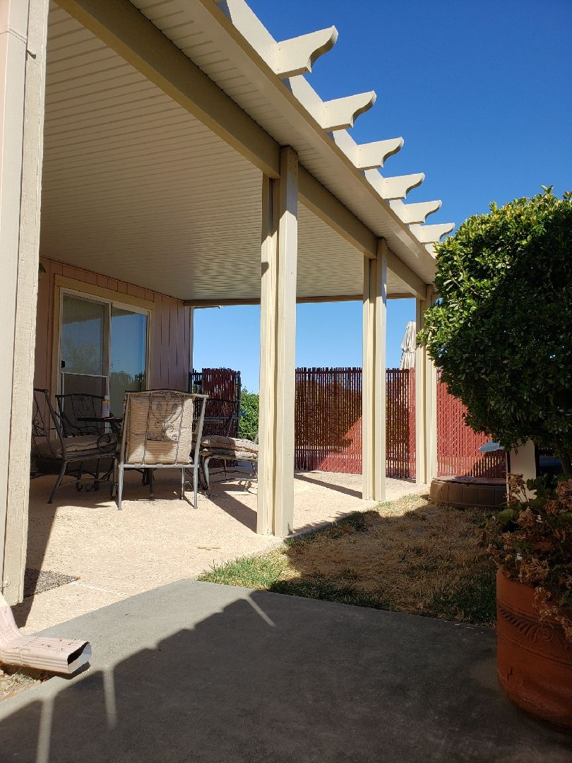 solid awning duralum patio cover