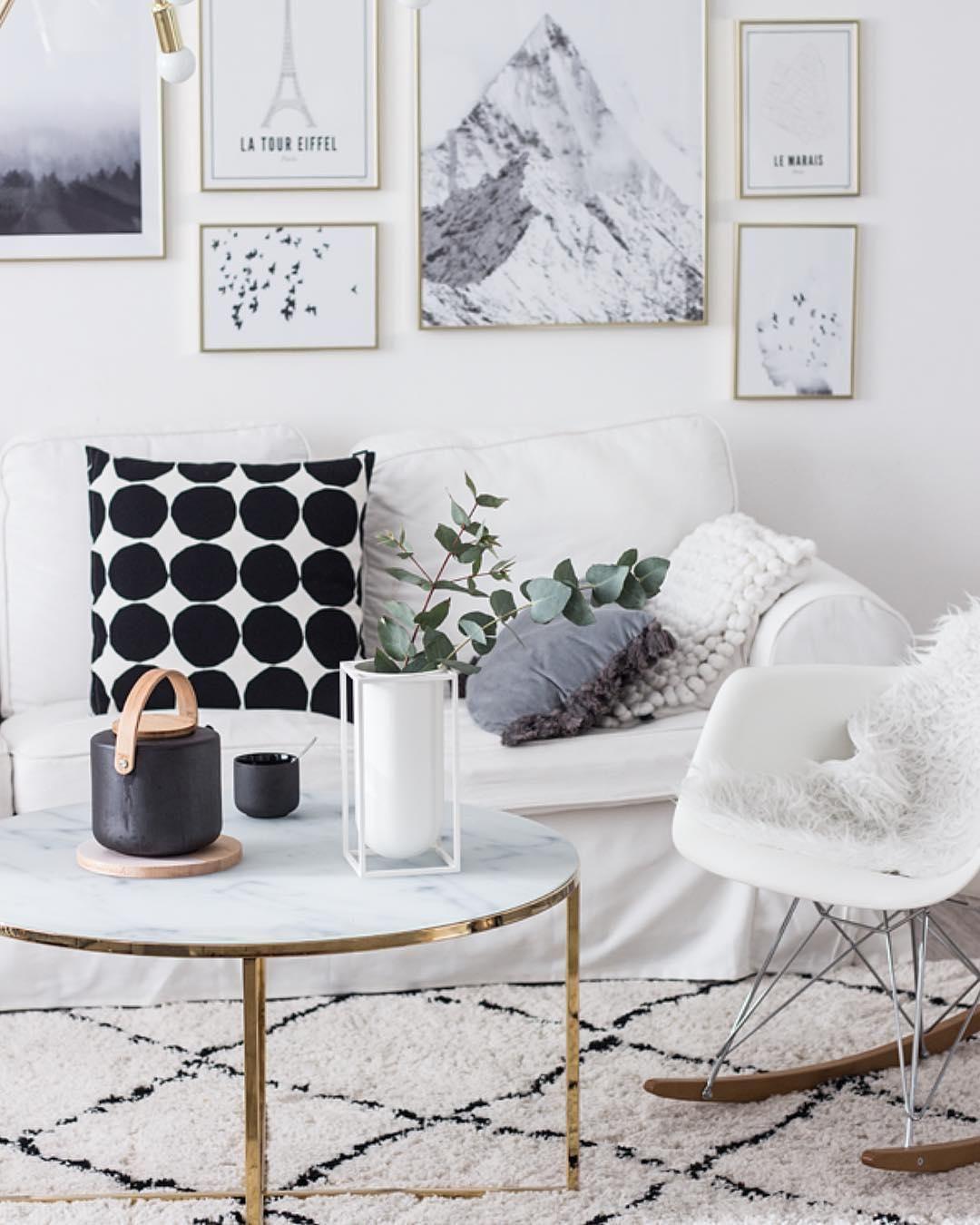Couchtisch Antigua Mit Marmorierter Glasplatte Westwingnow Wohnzimmer Tisch Weiss Marmor Esstische Zimmer Dekor Ideen