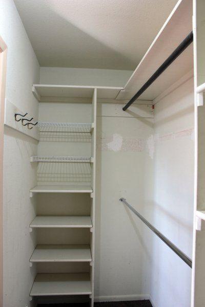 Trendy narrow walk in closet design wardrobes ideas