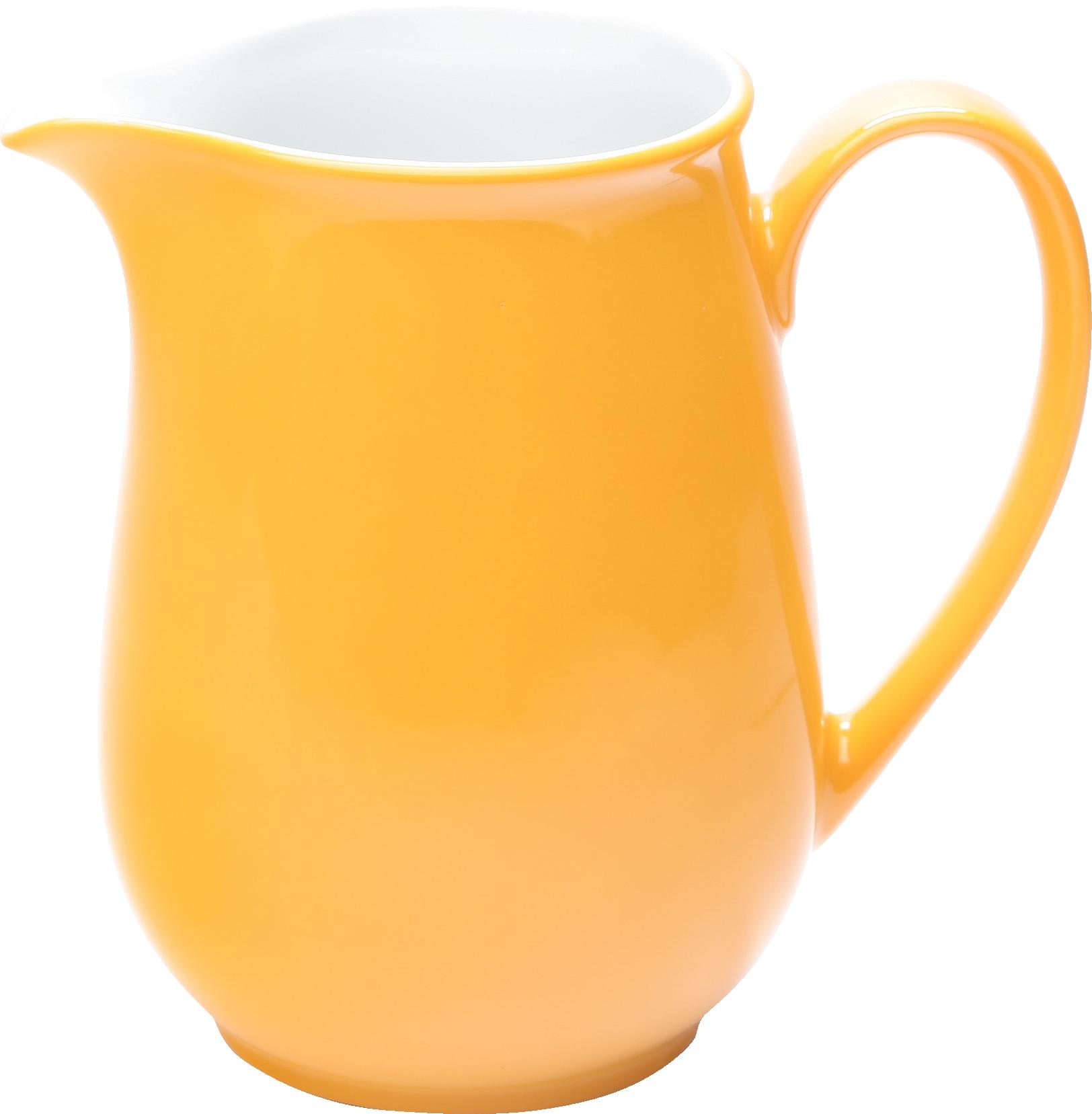Pronto Colore Krug 1,30 l orangegelb, KAHLA Porzellan