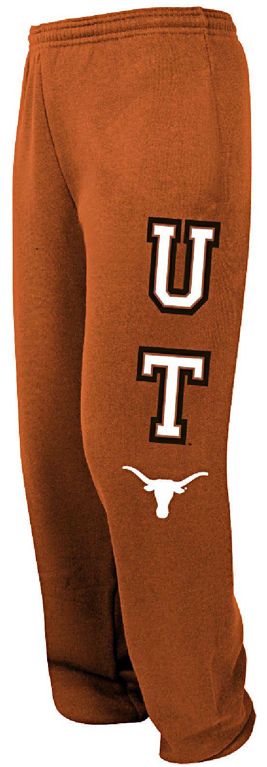 Texas Longhorns Burnt Orange College Sweatpants by Majestic $39.95