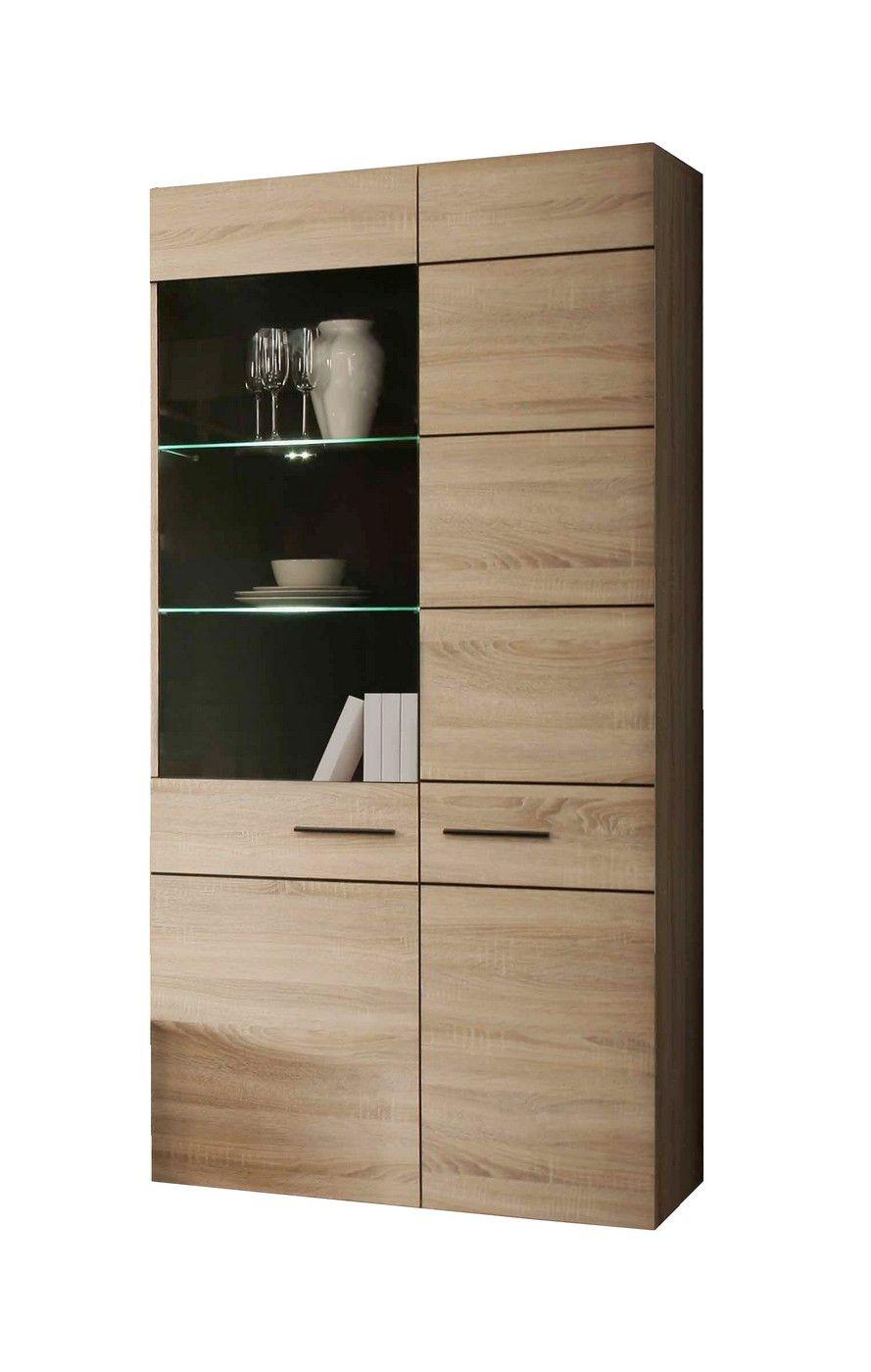 Vitrine Cora Iv Crockery Unit Tall Cabinet Storage Storage
