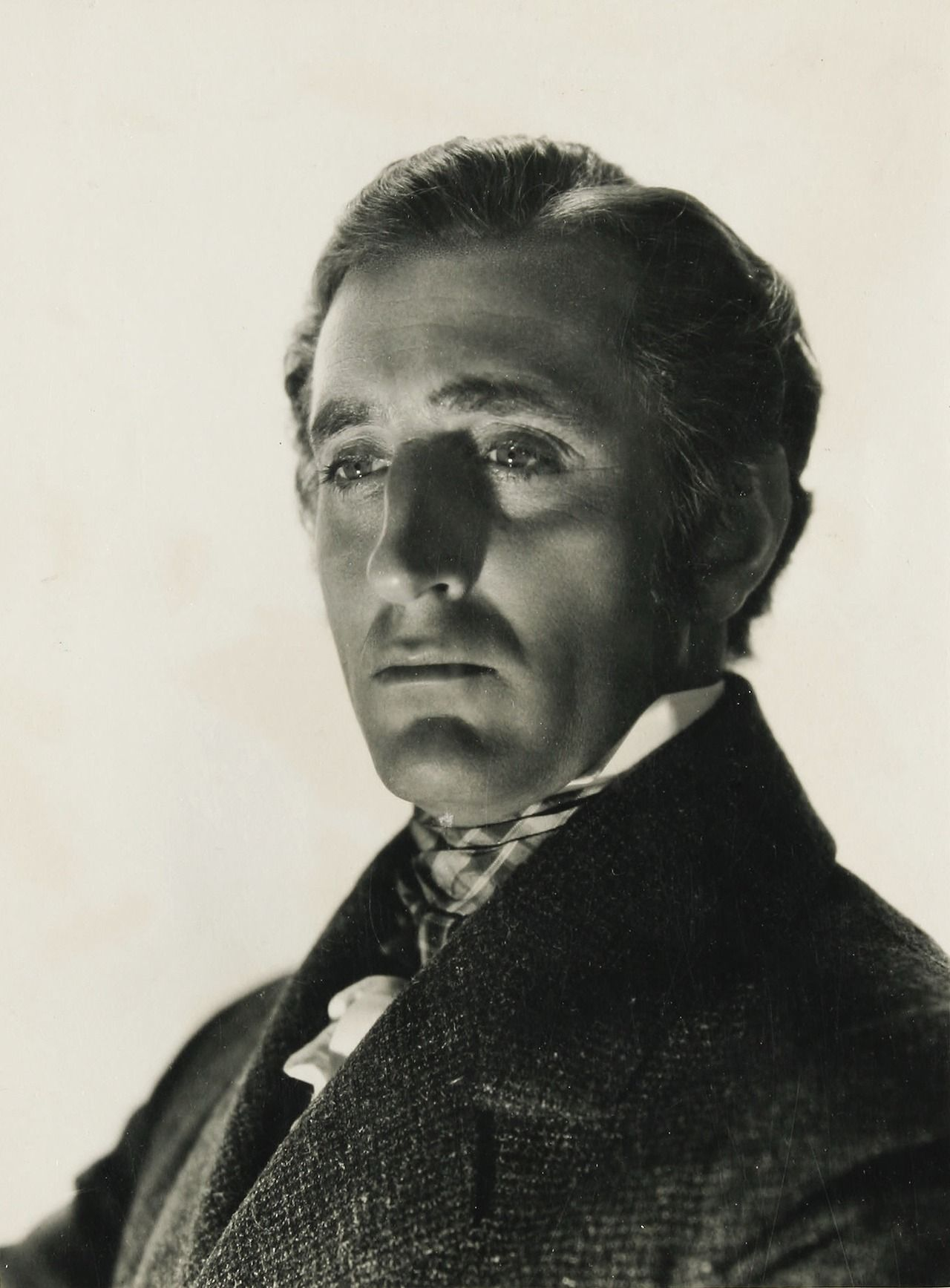 "Basil Rathbone en ""David Copperfield"", 1935"