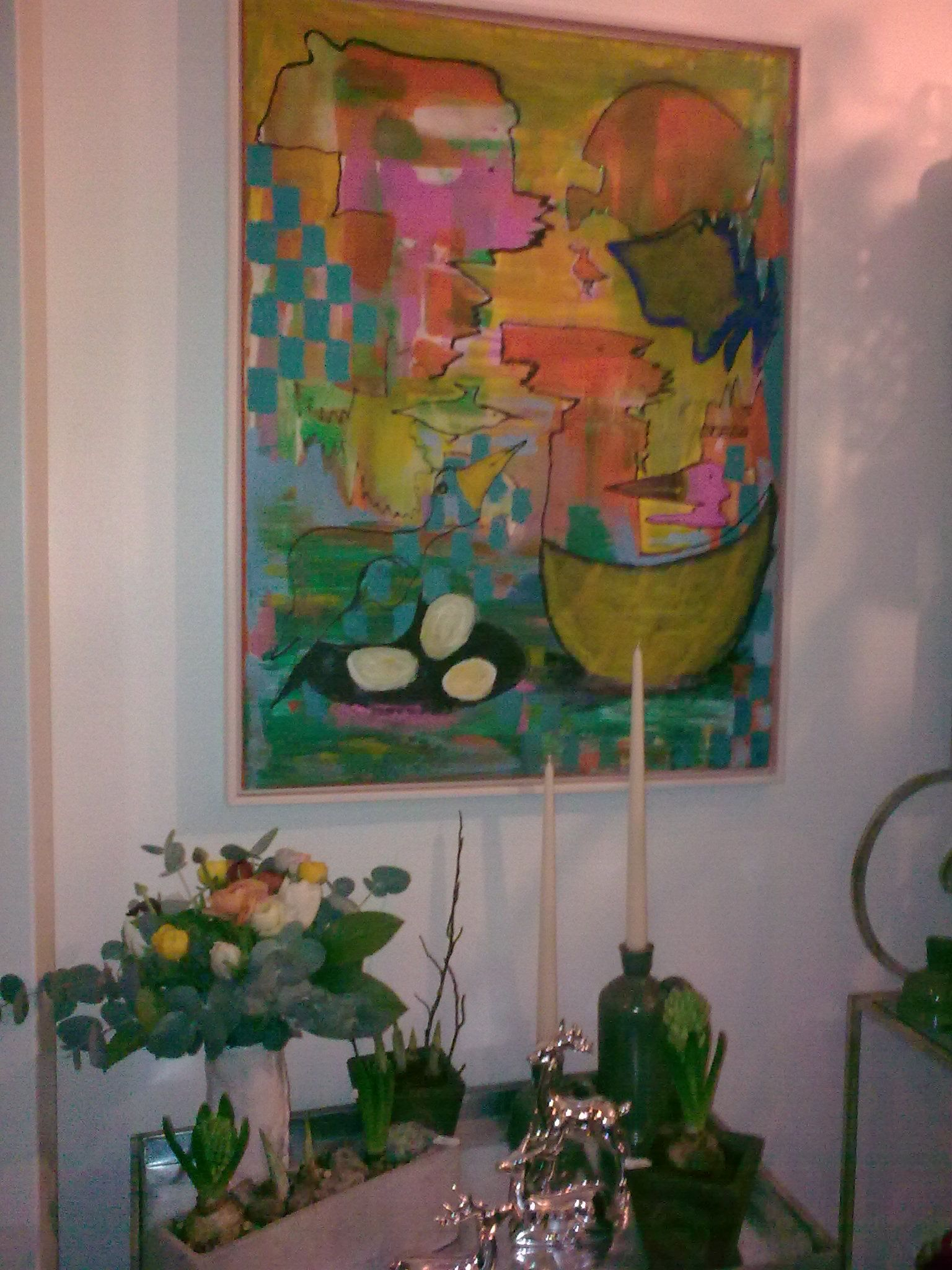 Pangfarver - Løgplanter, brugskunst og blomsterbuketter.