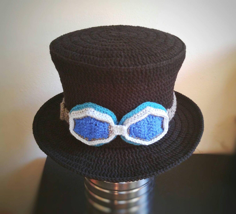 Sabo one piece anime hat,anime crochet hat | I Crochet World ...