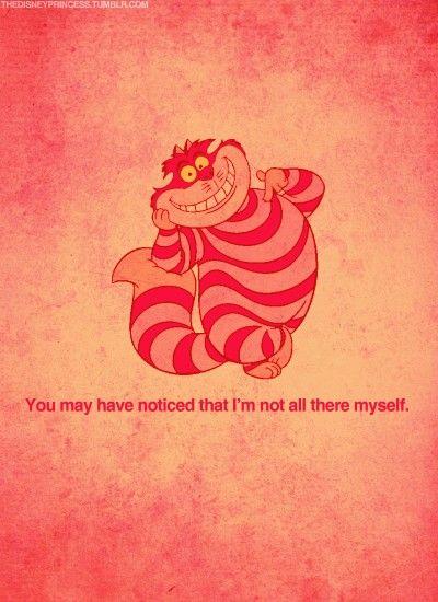 Walt Disney Cheshire Cat Quote Iphone BackgroundsIphone WallpapersWallpaper