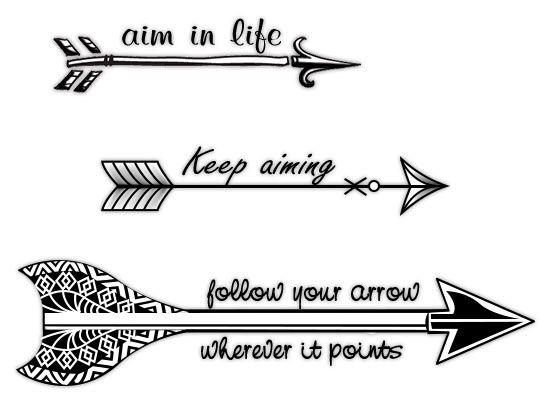 Aim In Life Keep Aiming Follow Your Arrow Wherever It Points Arrow Tattoos Arrow Tattoos Arrow Tattoo Design White Arrow Tattoos