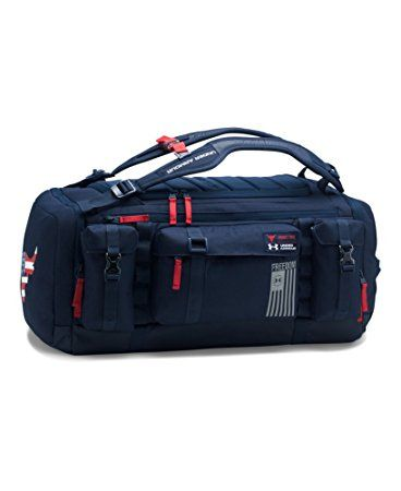 b882a9054 Under Armour UA Freedom Rock The Troops Range Duffle One Size Fits All  Midnight Navy
