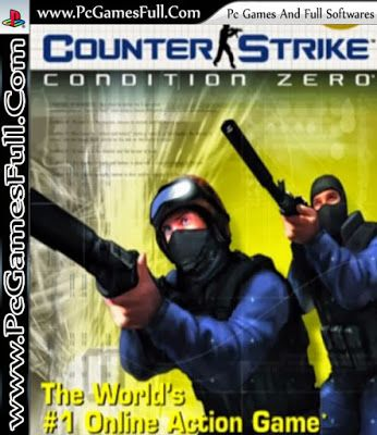 Counter Strike Condition Zero Video Pc Game Highly Compressed Setup Rip Free Download Full Version Online Action Games Gaming Pc Free Games