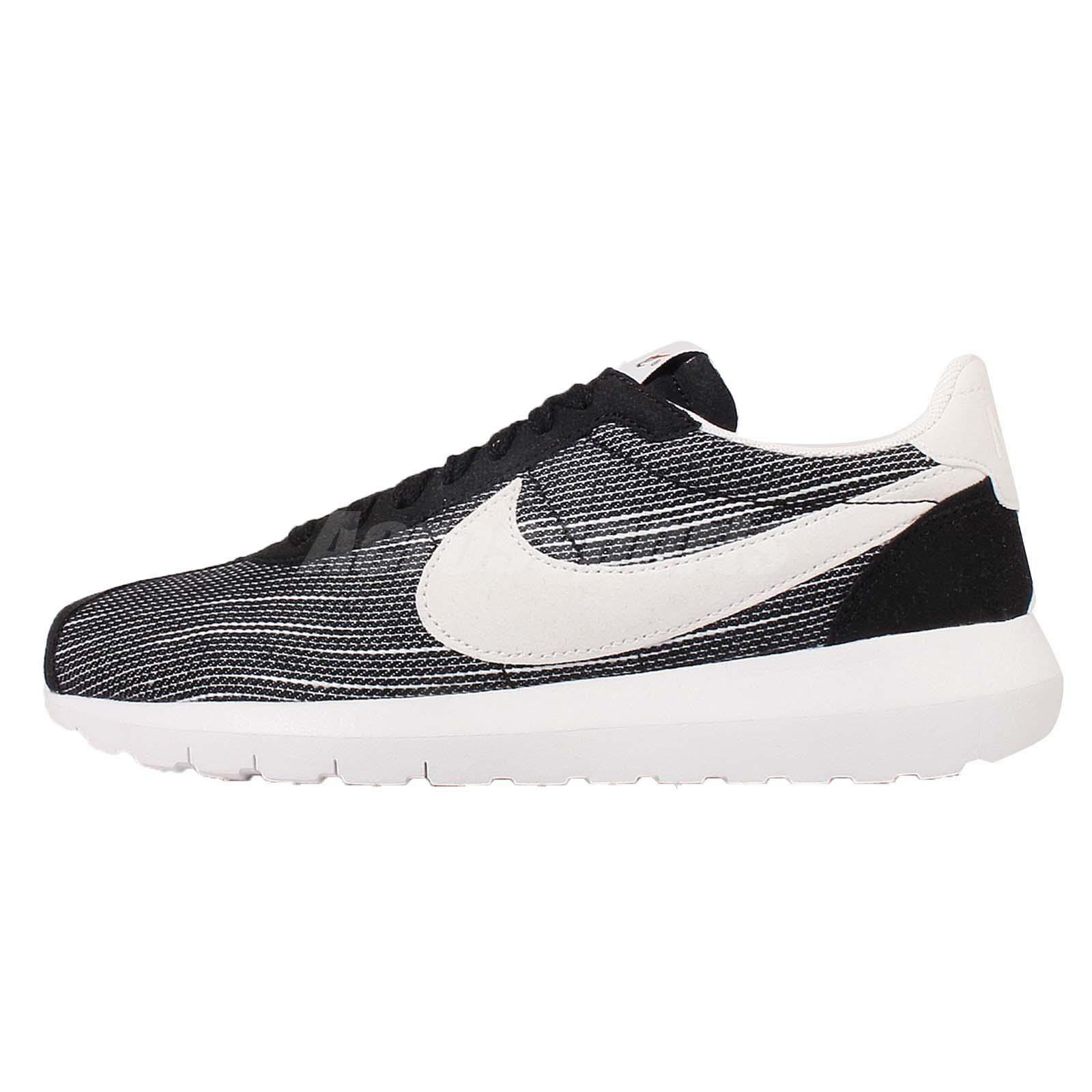 timeless design e3eac db182 Wmns Nike Roshe LD-1000 One Cortez Black White Womens Running Shoes  819843-005