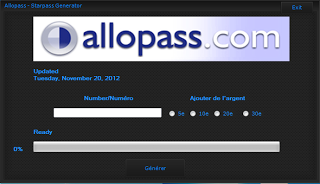 generateur allopass