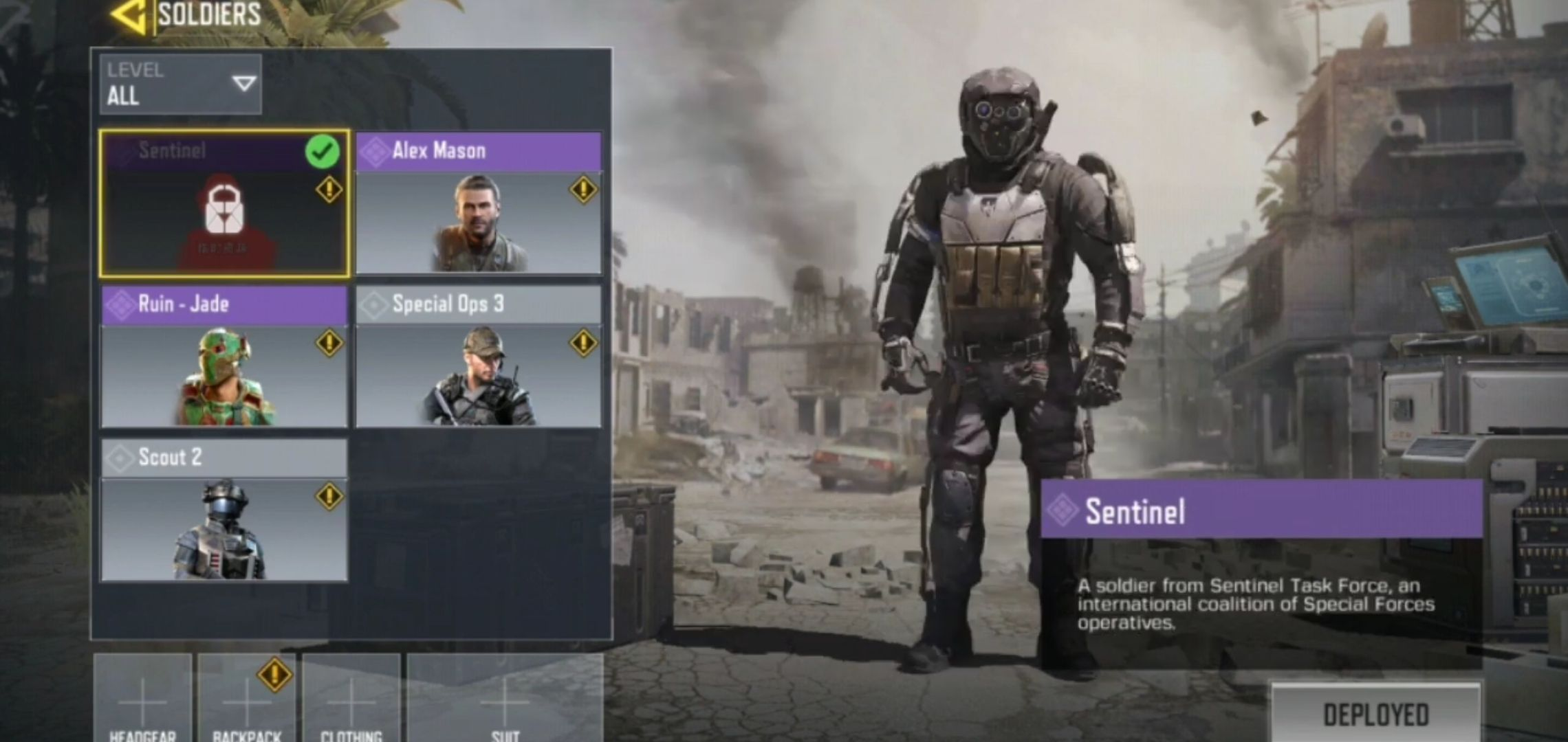 Sentinel Skin Coming To Call Of Duty Mobile In Season 3 Codm