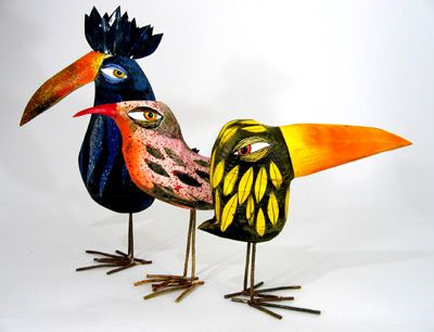 Wood Birds by Thomas Hill