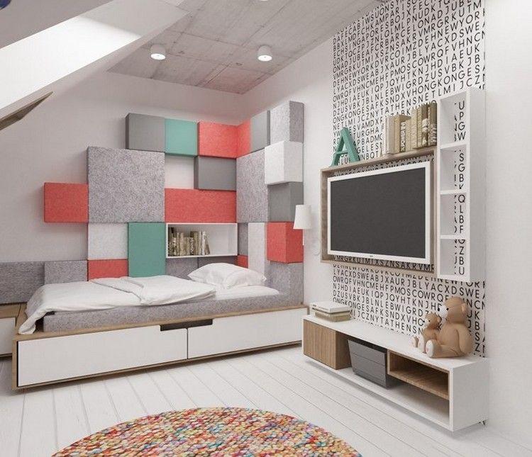 Kinderzimmer wandgestaltung feen  Kinderzimmer Wandgestaltung: 50 Ideen mit Farbe und Tapete ...