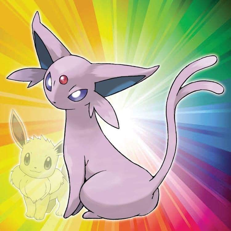 I evolved my Eevee, with high friendship during the day, into Espeon!