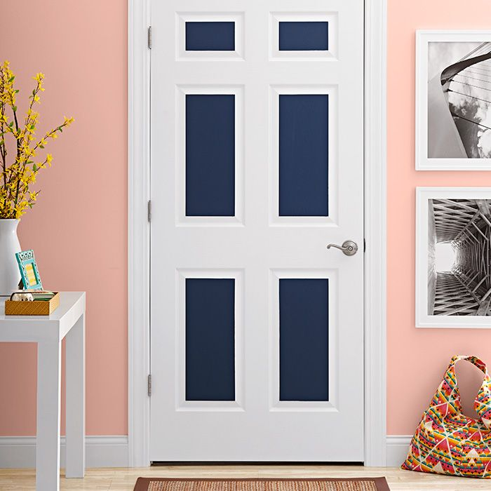 Make Door Panels Pop By Adding An Accent Color Find Out How In This