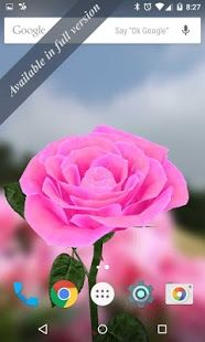 3d Rose Live Wallpaper Free Download From Our Apps Store Androidworldstore Live Wallpapers Wallpaper App Wallpaper Free Download