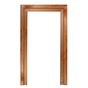 promasa juego de marco para puerta pino radiata de 38 x 90 cm