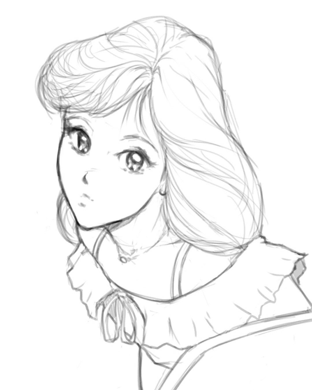 Quick 80 S Style Anime Drawing I Ll Try Coloring This One Later Art Drawing Sketch Japanese 80s Anime Animeart Manga Mangaart Art Manga Art Drawings