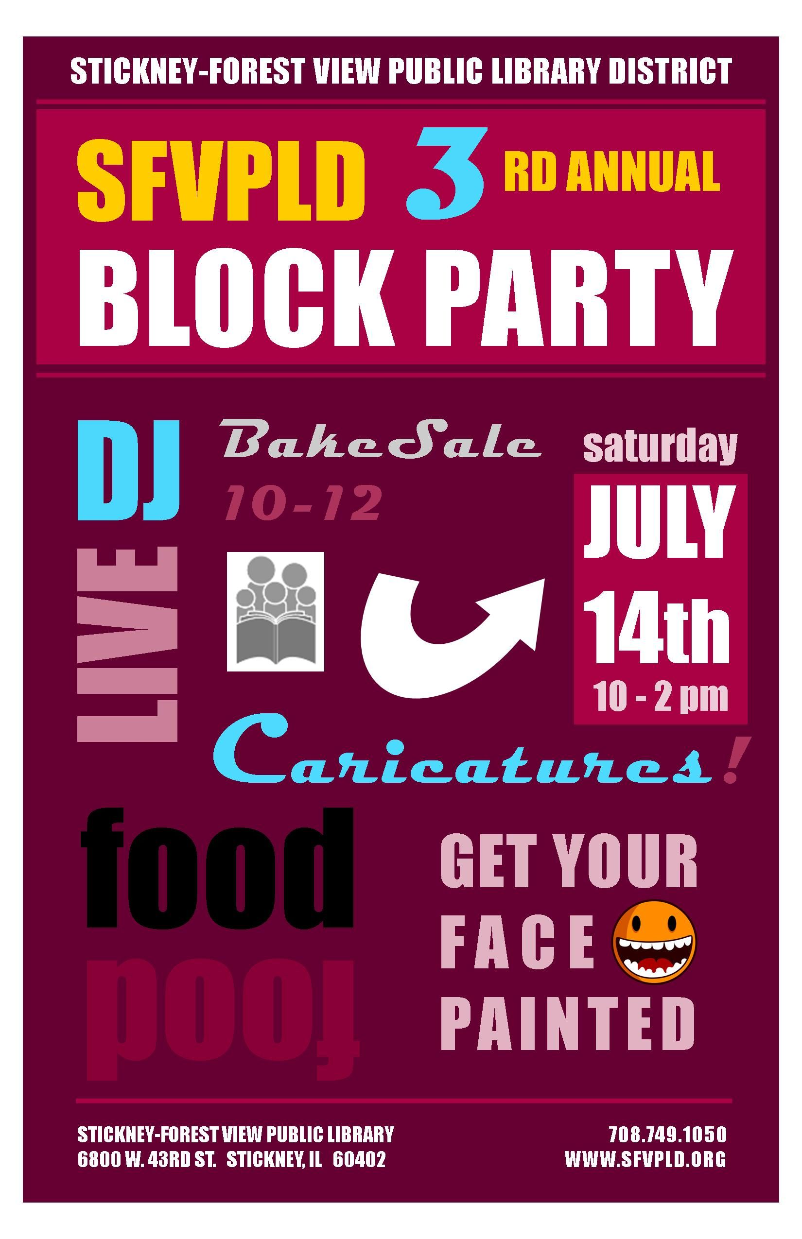 Block Party Invitation Block Party find invitation cards holiday ...