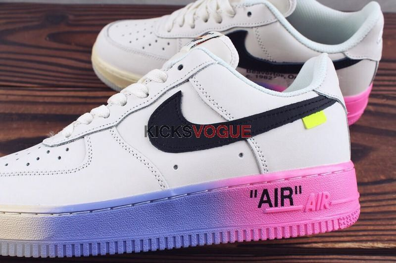 22e6e7aa05a Custom Off-White x Nike Air Force 1  Queen  Muticolor