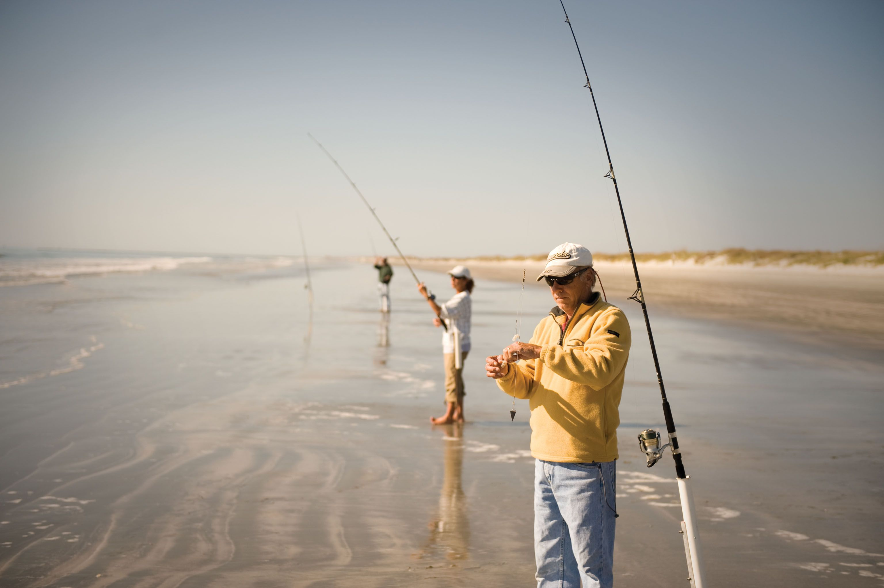 Cast A Line From The Shore Saltwater Fishing Surf Fishing Sea Fishing