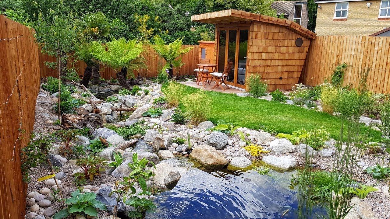 Amazing Nature Garden Landscaping Timelapse 10 Weeks In 10mins Walk Vertical Garden Diy Sloped Garden Outdoor Gardens
