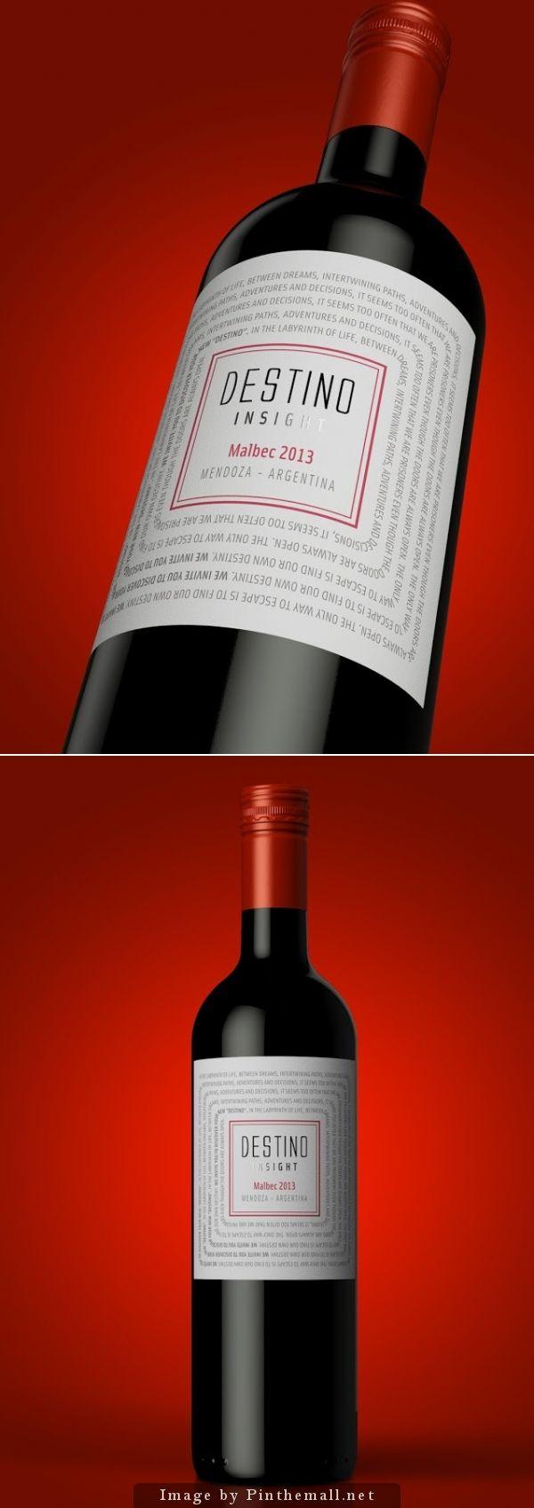 Destino Wine Packaging Design Wine Label Packaging Wine Label Design