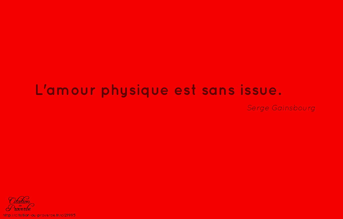 Citation De Serge Gainsbourg Citations Quote