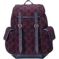 Photo of Small backpack made of wool with Gg motif Gucci