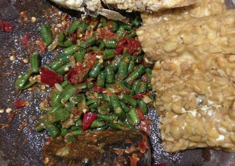 Resep Sambal Pencok Mentah Oleh Mama Max Resep Resep Resep Masakan Masakan